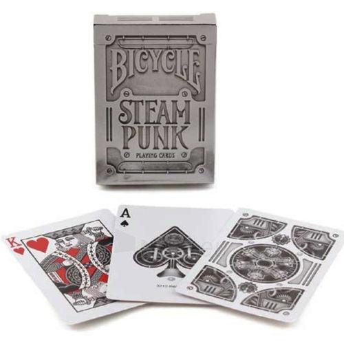 Bicycle Silver Steampunk kortos Paveikslėlis 8 iš 16 251010000242
