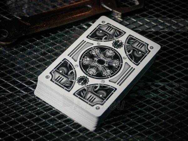 Bicycle Silver Steampunk kortos Paveikslėlis 6 iš 16 251010000242