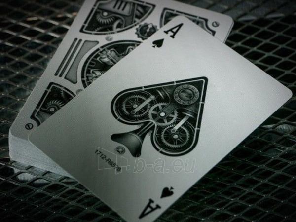 Bicycle Silver Steampunk kortos Paveikslėlis 5 iš 16 251010000242