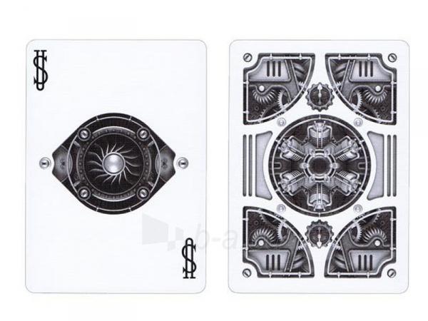 Bicycle Silver Steampunk kortos Paveikslėlis 4 iš 16 251010000242