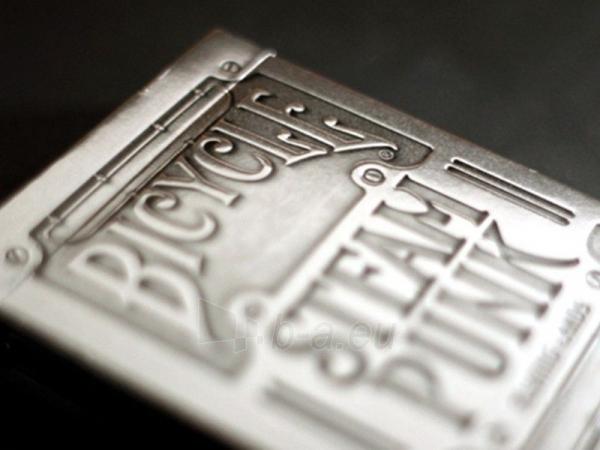 Bicycle Silver Steampunk kortos Paveikslėlis 16 iš 16 251010000242