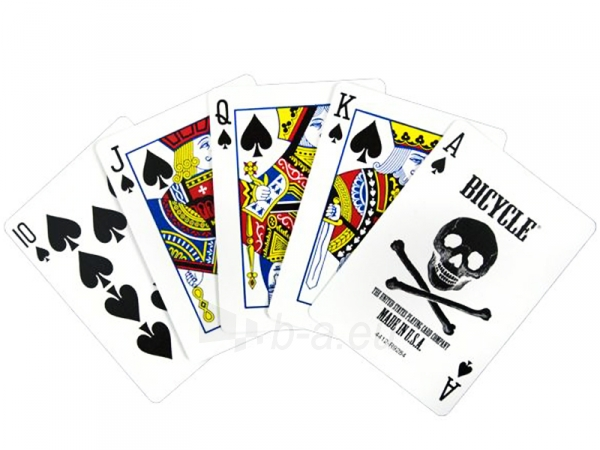 Bicycle Skull kortos Paveikslėlis 9 iš 11 251010000243