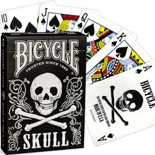 Bicycle Skull kortos Paveikslėlis 11 iš 11 251010000243