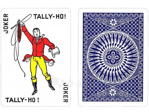 Bicycle Tally-Ho Circle kortos (Mėlynos) Paveikslėlis 1 iš 10 251010000245