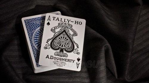 Bicycle Tally-Ho Circle kortos (Mėlynos) Paveikslėlis 8 iš 10 251010000245
