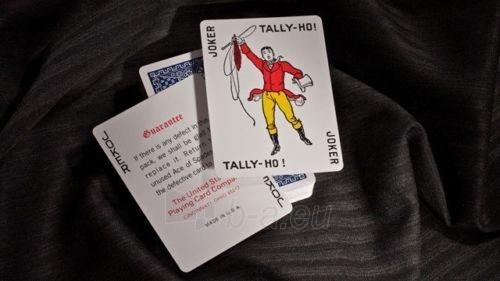 Bicycle Tally-Ho Circle kortos (Mėlynos) Paveikslėlis 7 iš 10 251010000245