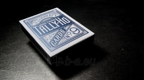 Bicycle Tally-Ho Circle kortos (Mėlynos) Paveikslėlis 4 iš 10 251010000245