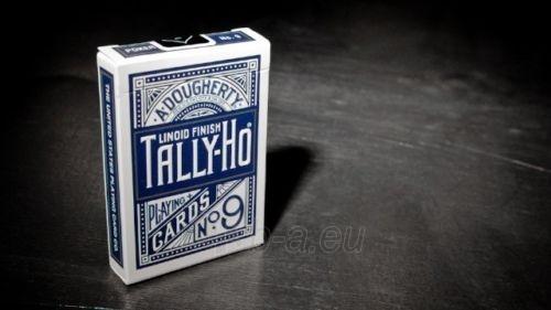 Bicycle Tally-Ho Circle kortos (Mėlynos) Paveikslėlis 3 iš 10 251010000245