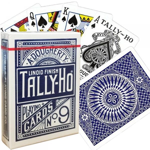 Bicycle Tally-Ho Circle kortos (Mėlynos) Paveikslėlis 10 iš 10 251010000245