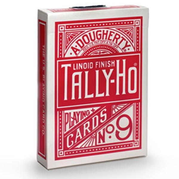 Bicycle Tally-Ho Circle kortos (Raudonos) Paveikslėlis 4 iš 7 251010000246