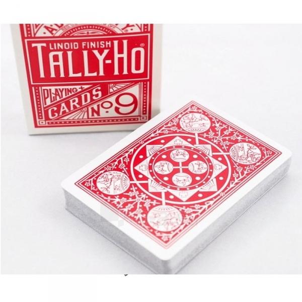 Bicycle Tally-Ho Fan back kortos (Raudonos) Paveikslėlis 4 iš 7 310820066749