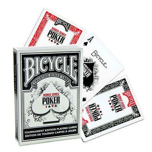 Bicycle WSOP pokerio kortos (Juodos) Paveikslėlis 1 iš 7 251010000251