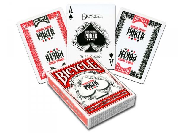 Bicycle WSOP pokerio kortos (Raudonos) Paveikslėlis 1 iš 7 251010000252
