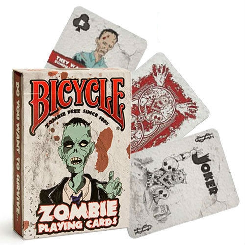 Bicycle Zombie kortos Paveikslėlis 10 iš 15 251010000254