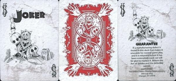 Bicycle Zombie kortos Paveikslėlis 8 iš 15 251010000254