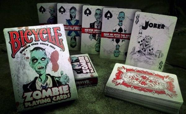 Bicycle Zombie kortos Paveikslėlis 2 iš 15 251010000254