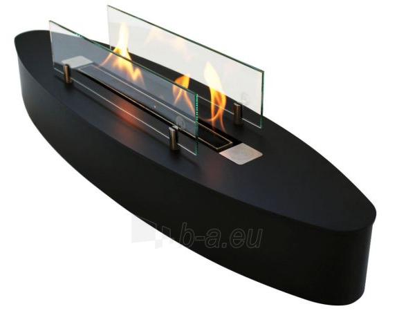 Bio židinys Ebios-fire Elipse Base, juodas Paveikslėlis 3 iš 4 310820236025