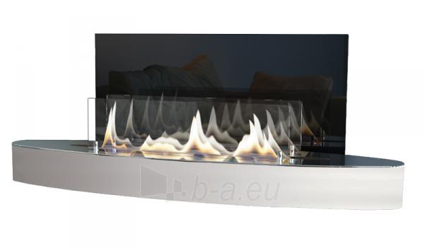 Bio židinys Ebios-fire Elipse Wall, nerūdijančio plieno Paveikslėlis 1 iš 2 310820236032