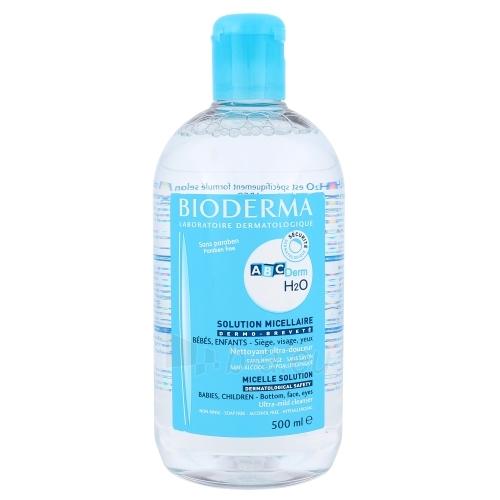 Bioderma ABCDerm H2O Micellar Water Cosmetic 500ml Paveikslėlis 1 iš 1 310820003374