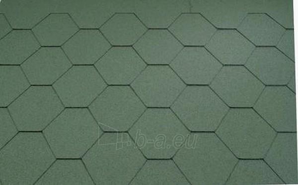 Bituminės čerpelės Super KL žalia Paveikslėlis 1 iš 1 237140000041