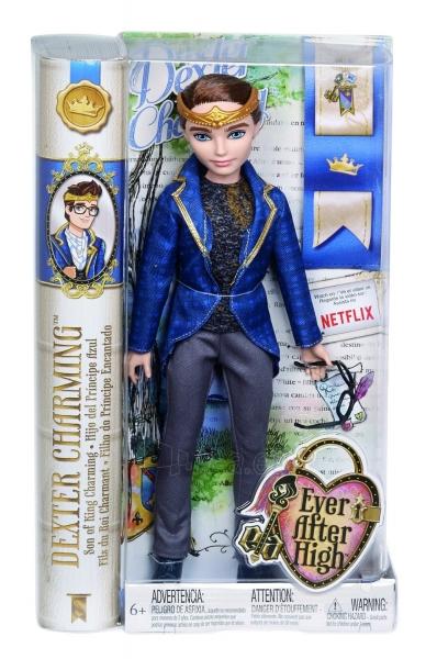 BJH09 / BBD51 Mattel Ever After High Dexter Charming lėlė Paveikslėlis 1 iš 3 310820050297
