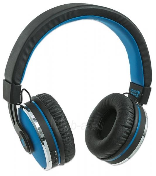 Bluetooth ausinės Manhattan Sound Science Cosmos Su mikrofonu Mėlynos Paveikslėlis 2 iš 7 310820050099