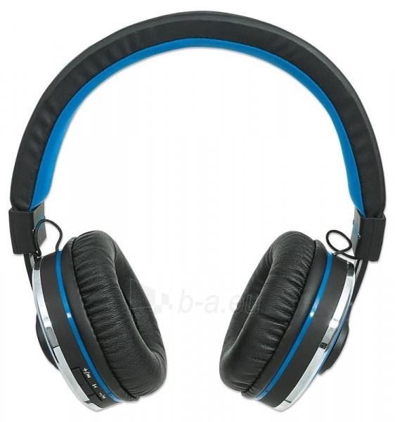 Bluetooth ausinės Manhattan Sound Science Cosmos Su mikrofonu Mėlynos Paveikslėlis 3 iš 7 310820050099