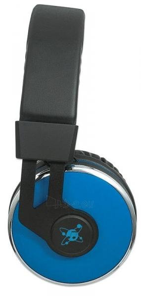 Bluetooth ausinės Manhattan Sound Science Cosmos Su mikrofonu Mėlynos Paveikslėlis 4 iš 7 310820050099