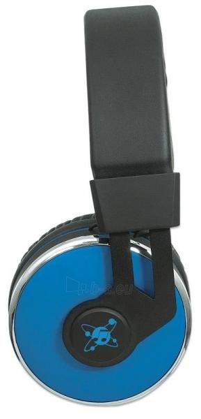 Bluetooth ausinės Manhattan Sound Science Cosmos Su mikrofonu Mėlynos Paveikslėlis 5 iš 7 310820050099