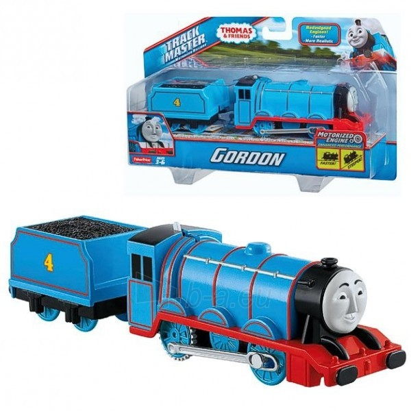 Traukinukas BML09 / BMK86 / BMK87 Fisher-Price GORDON TRACKMASTER THOMAS & FRIENDS (thomas & friends) Paveikslėlis 1 iš 2 310820002399