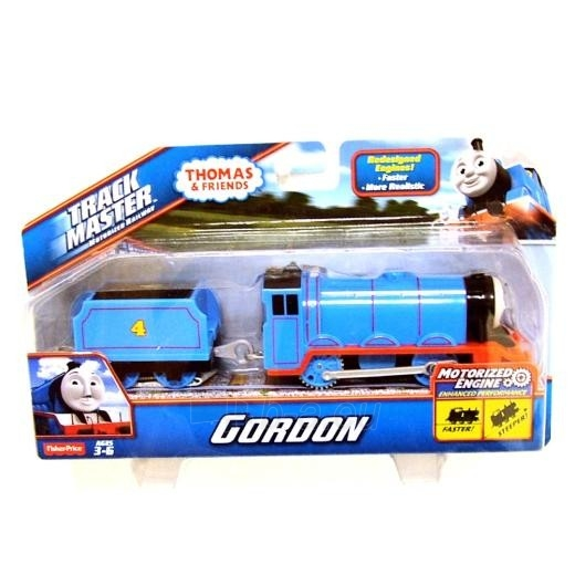 Traukinukas BML09 / BMK86 / BMK87 Fisher-Price GORDON TRACKMASTER THOMAS & FRIENDS (thomas & friends) Paveikslėlis 2 iš 2 310820002399