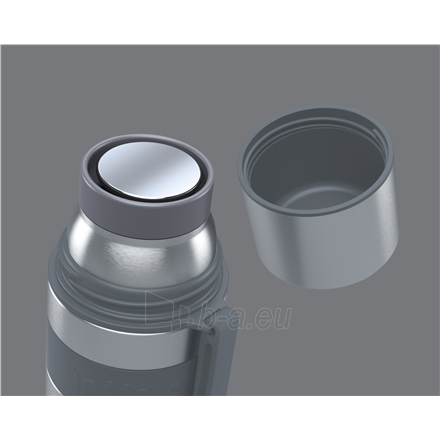 Boddels HEET Vacuum flask with cup Light grey, Capacity 0.35 L, Diameter 7.2 cm, Bisphenol A (BPA) free Paveikslėlis 2 iš 3 310820221781