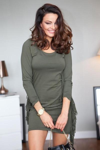 BOHO style dress Bianca (chaki collours) Paveikslėlis 1 iš 4 310820032661