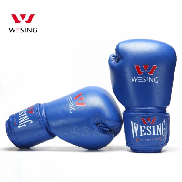 Bokso pirštinės maišams WESING, mėlynos Paveikslėlis 1 iš 1 310820040114