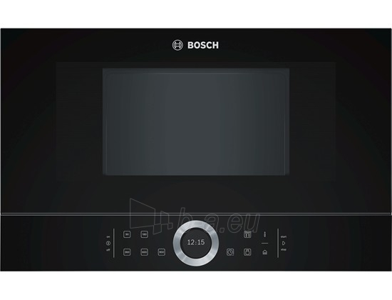 Bosch BFL634GB1 Built-In Microwave Oven, Black Paveikslėlis 1 iš 2 250135000122