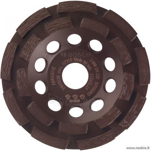 BOSCH GBR 15 CAG betono šlifuoklis su deimantiniu šlifavimo disku + L-Boxx Paveikslėlis 2 iš 3 310820054687