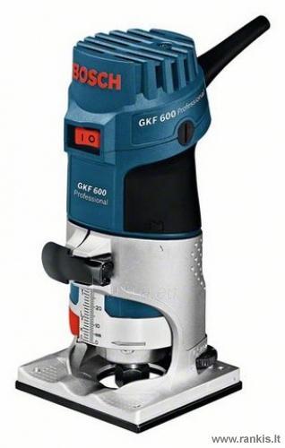 Bosch GKF 600 Professional briaunų frezavimo mašina Paveikslėlis 1 iš 1 310820049823