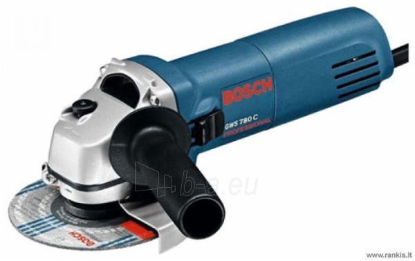 BOSCH GWS 780 C kampinis šlifuoklis Paveikslėlis 1 iš 1 310820051039