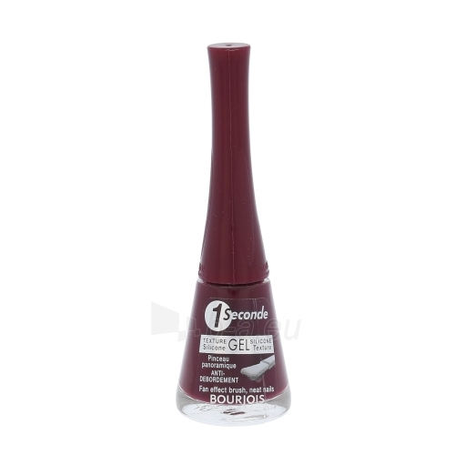 BOURJOIS Paris 1 Seconde Gel Nail Polish Cosmetic 9ml 12 Rouge Paveikslėlis 1 iš 1 250874000903