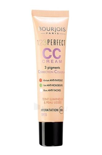 BOURJOIS Paris 123 Perfect CC Cream Cosmetic 30ml 33 Rose Beige Paveikslėlis 1 iš 1 250873200323