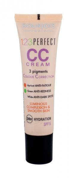 BOURJOIS Paris 123 Perfect CC Cream Cosmetic 30ml 34 Bronze Paveikslėlis 2 iš 2 250873100834