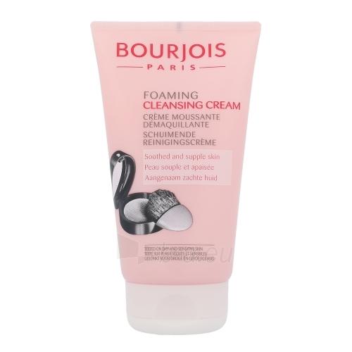 BOURJOIS Paris Foaming Cleansing Cream Cosmetic 150ml Paveikslėlis 1 iš 1 250840700723