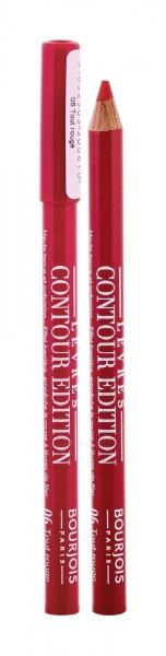 BOURJOIS Paris Lévres Contour Edition Lip Liner Cosmetic 1,14g 06 Tout Rouge Paveikslėlis 2 iš 2 250872300132