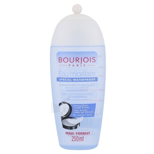 BOURJOIS Paris Micellar Cleansing Water For Waterproof Makeup Cosmetic 250ml Paveikslėlis 1 iš 1 250840701047