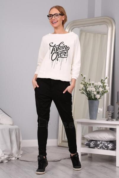 BOYFRIEND tipo džinsai Oxera (juodos spalvos) Paveikslėlis 1 iš 5 310820032483