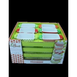 Brandani mini kepimo indas su silikoninėmis rankenomis (7595) Paveikslėlis 2 iš 3 310820125179