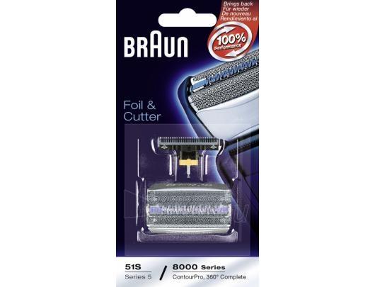 BRAUN 51S (8000) kom. tinklelis+peil. Paveikslėlis 3 iš 3 250122100060