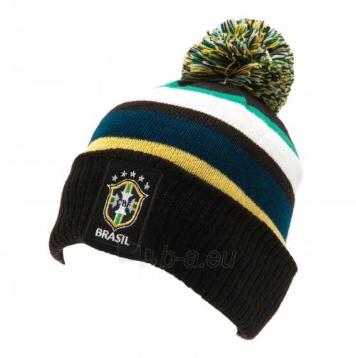 Brazilijos rinktinės žieminė kepurė su bumbulu Paveikslėlis 1 iš 4 251009001593
