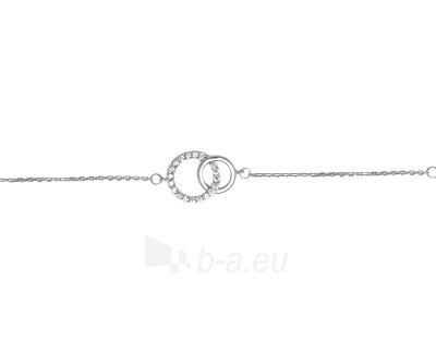 Brilio Silver sidabrinė apyrankė su cirkoniu 5270485 Paveikslėlis 1 iš 1 310820027197