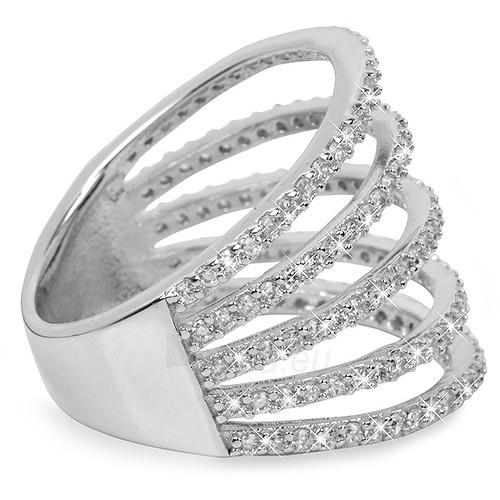 Brilio Silver sidabrinis žiedas su cirkoniu 31G3098 (Dydis: 54 mm) Paveikslėlis 2 iš 3 310820025713